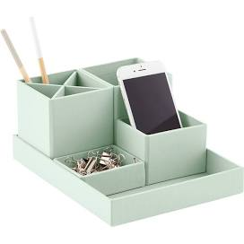 This desk organizer will help you keep your workspace clean
